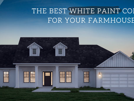 The Best White Paint Colors for Your Farmhouse