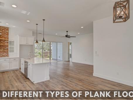 Different Types of Plank Flooring