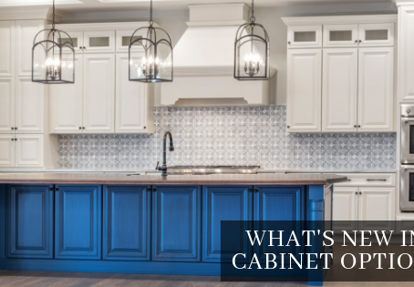 What's New in Cabinet Options