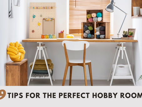 9 Tips for the Perfect Hobby Room