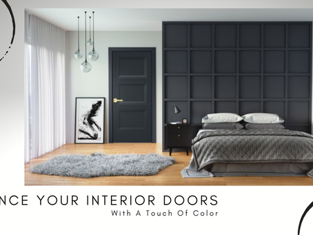 Enhance Your Interior Doors With A Touch Of Color