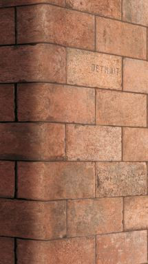 City Mix brick tile