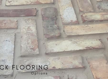 Brick Flooring Options
