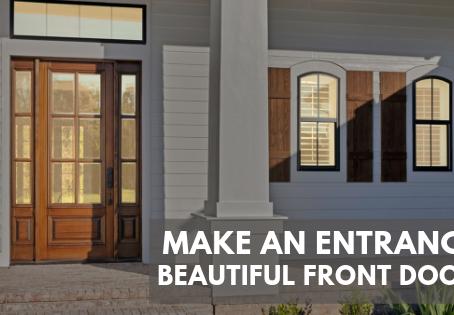 Make an Entrance: Beautiful Front Doors