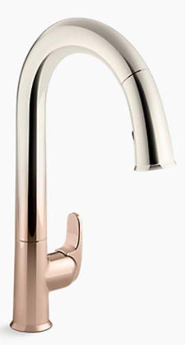 Kohler's Vibrant Ombre faucet
