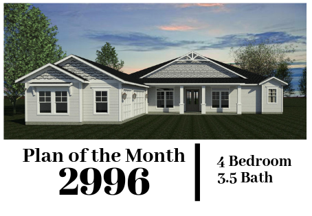 Plan of the Month - 2996