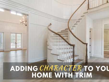 Adding Character to Your Home with Trim