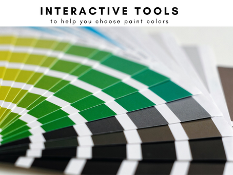 Interactive Tools to Help You Choose Paint Colors