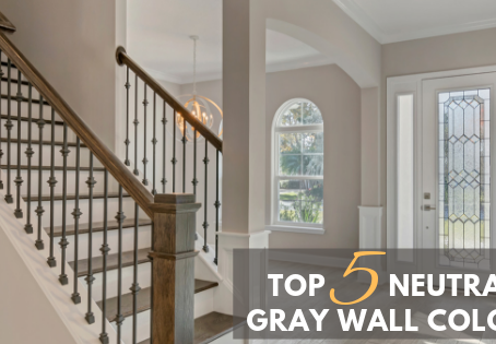 Top 5 Neutral Gray Wall Colors