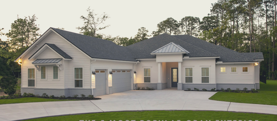 The 5 Most Popular Gray Exterior Paint Colors