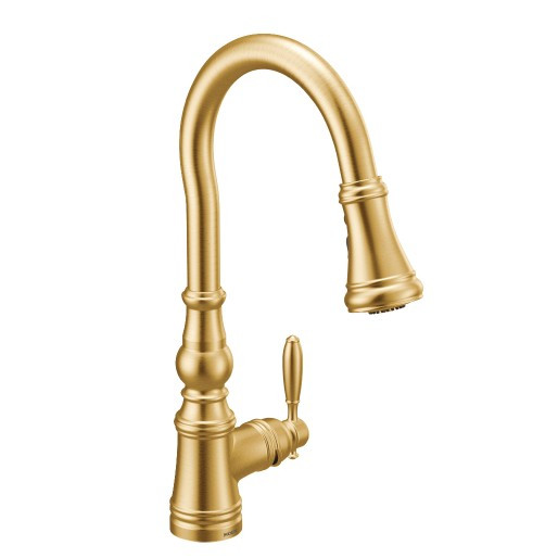 Moen Weymouth brushed gold