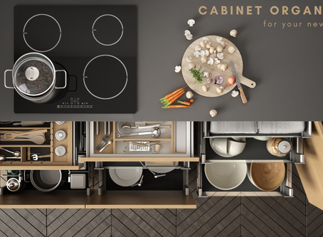 Cabinet Organizers for Your New Kitchen