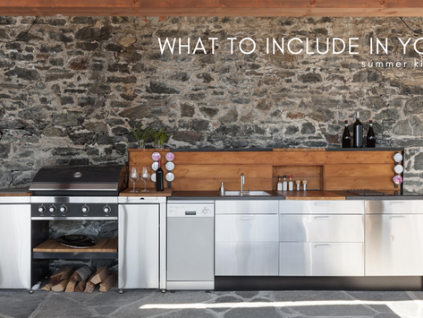 What To Include In Your Summer Kitchen