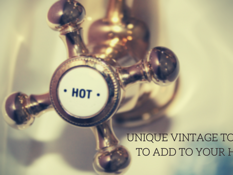 Unique Vintage Touches to Add to Your Home