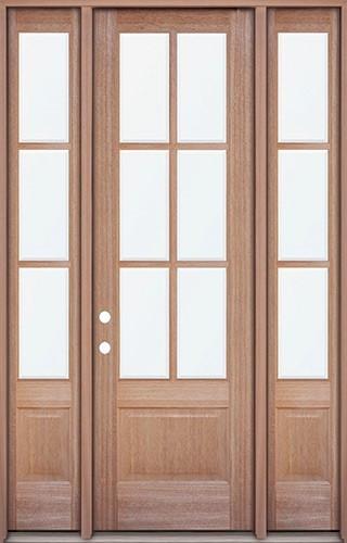 Mahogany front door