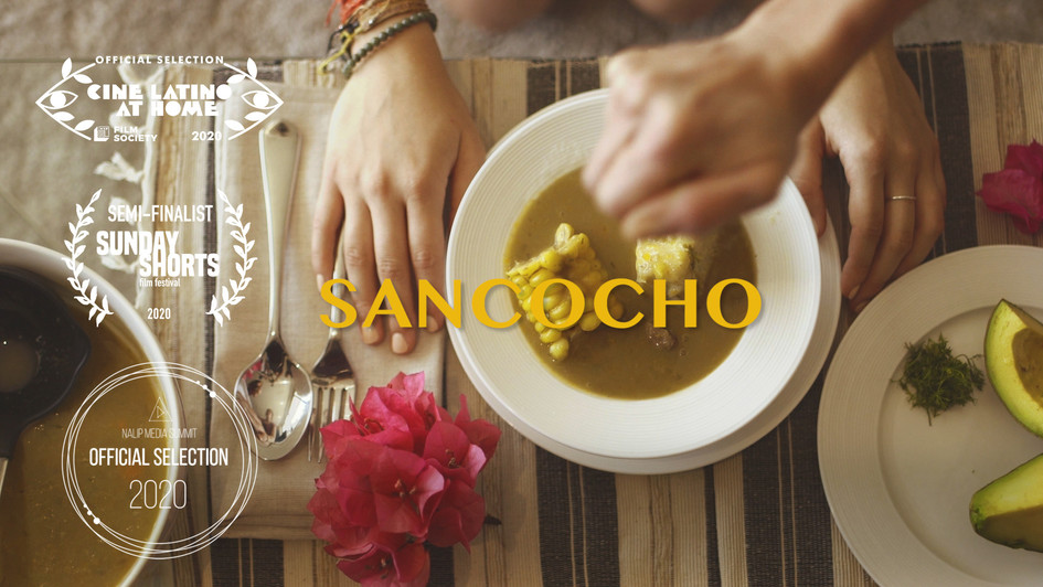 """Sancocho is a 3-minute personal film about the duality of growing up """"LatinX"""" before the label existed.  Role: director, cinematographer, editor.   Selected for NALIP's Official Selection in 2020, The Minneapolis St Paul International CineLatino Film Festival and was a semifinalist for The Sunday Shorts Film Festival."""