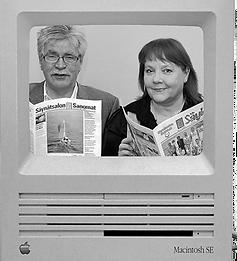 Kari Ruuska ja Tarja Ruuska
