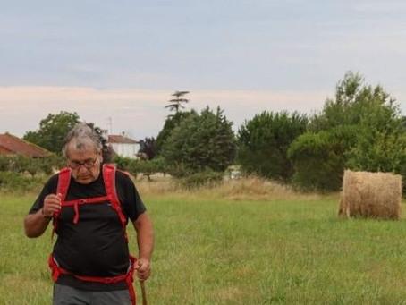 Un élu marche contre le suicide agricole, de Marmande à Ste Anne d'Auray (56)