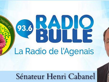 Parlons Rural du jeudi 01 avril (N°4) avec M. Henri Cabanel (sénateur)