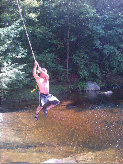 NH Bebee rope swing