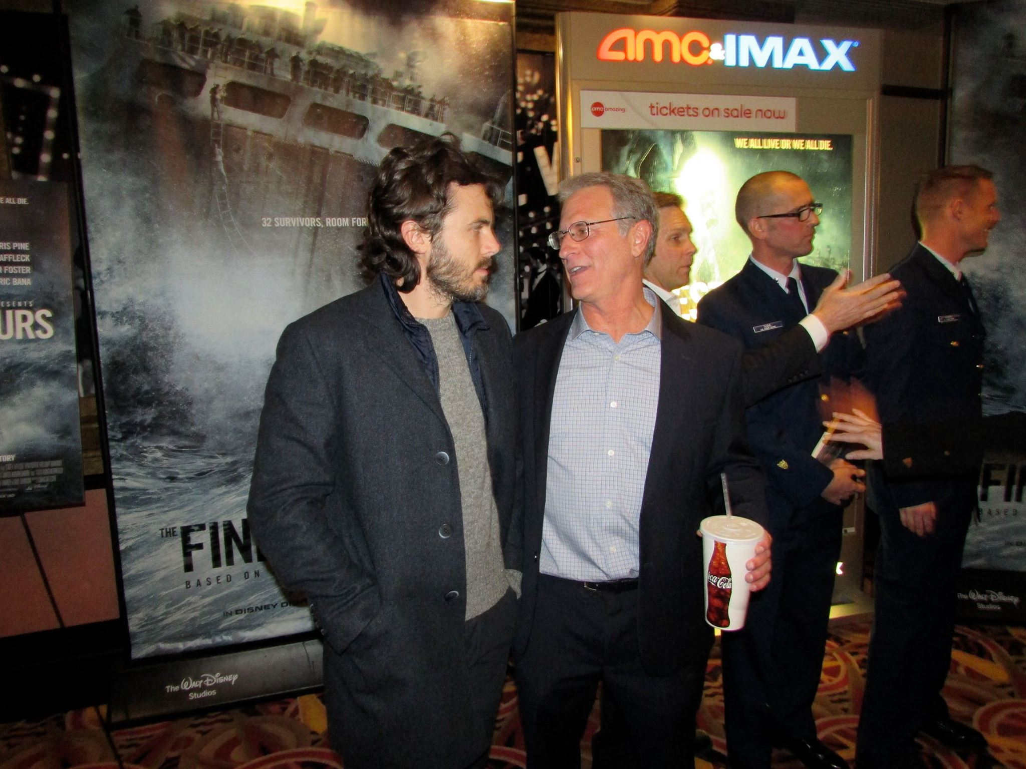 with Finest Hours star Casey Affleck