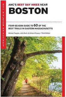 AMC guidebook Best Day Hikes Near Boston
