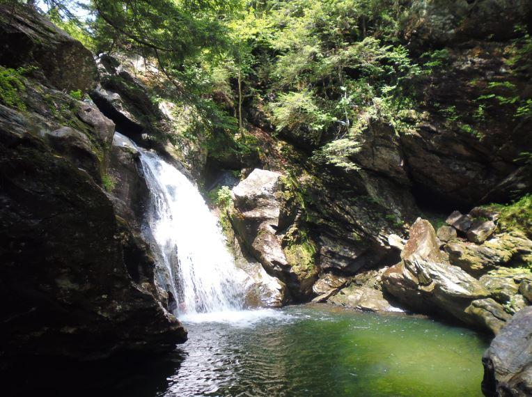 Bingham Falls Stowe VT July 15
