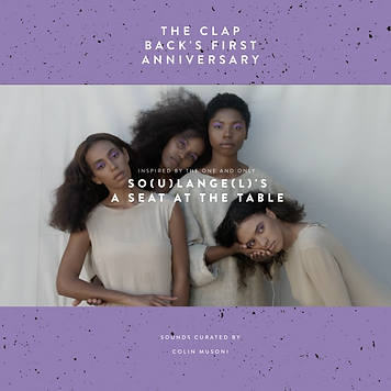 Solange - A Seat at the Table Event Flyer