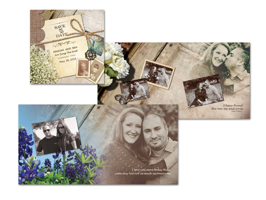 Save the Date Wedding Booklet