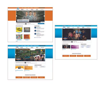 MWR Brandcentral Webpages