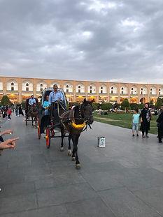 Ispahan Cheval Iran