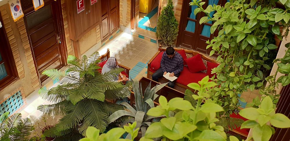 Lobby hotel isfahan