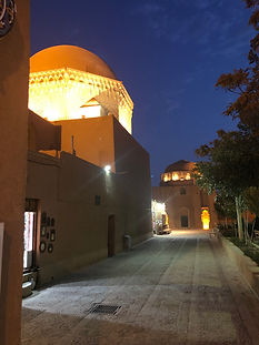 Yazd by night