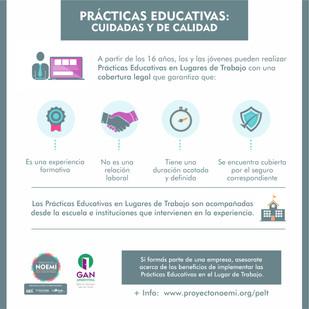 Las empresas se benefician cuando ofrecen prácticas educativas en lugares de trabajo