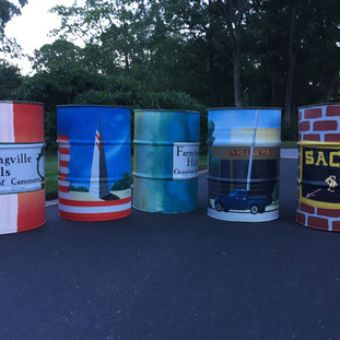 Trash Receptacles for the Town of Farmingville
