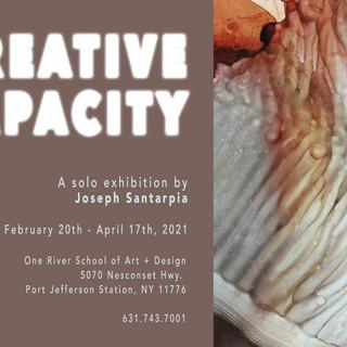 Show Card.Creative Capacity.One River.R.