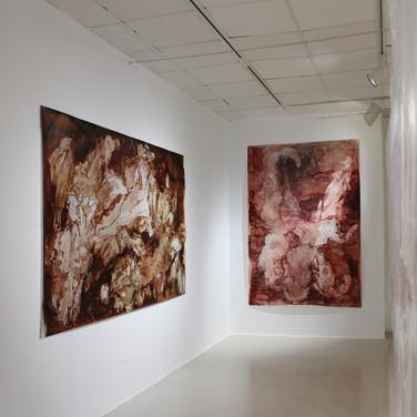 installation view, second corridor