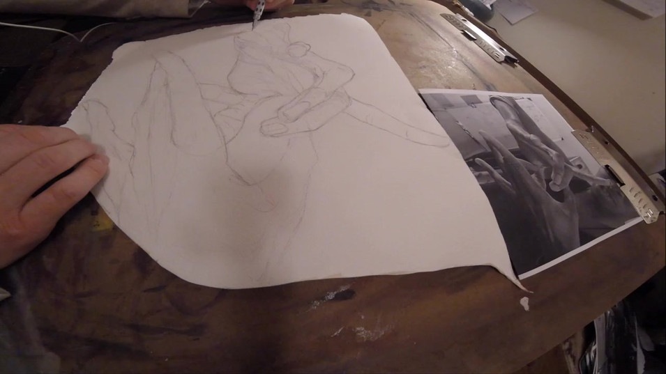 Hand Drawing: Time Lapse 01