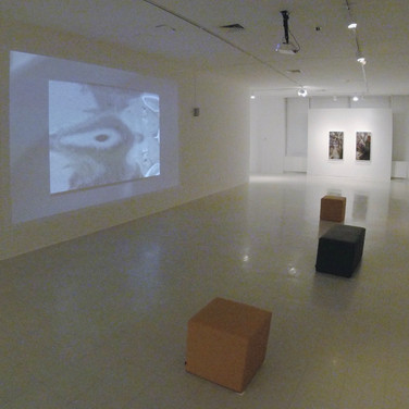 Back gallery space