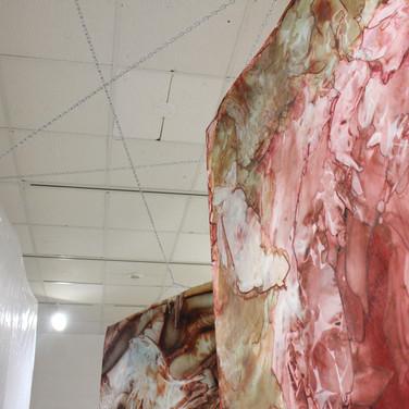 installation view, detail, first corridor
