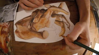 Hand Painting: Time Lapse 01