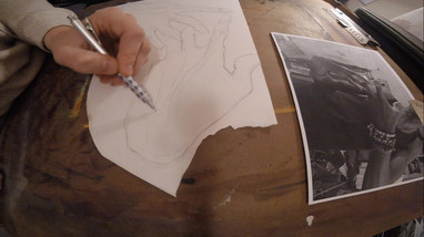 Hand Drawing: Time Lapse 02
