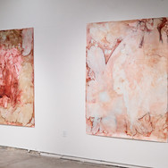 installation view, main gallery space