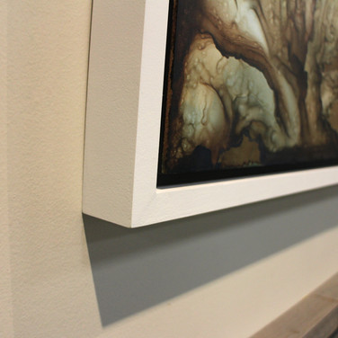 installation view, detail