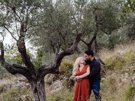 Intimate & Moody Tuscan Micro Wedding