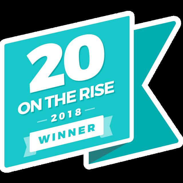 20 on the Rise 2018 Winner