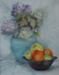 Apples and Hydrangias