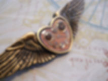 Winged Pin with Watchworks