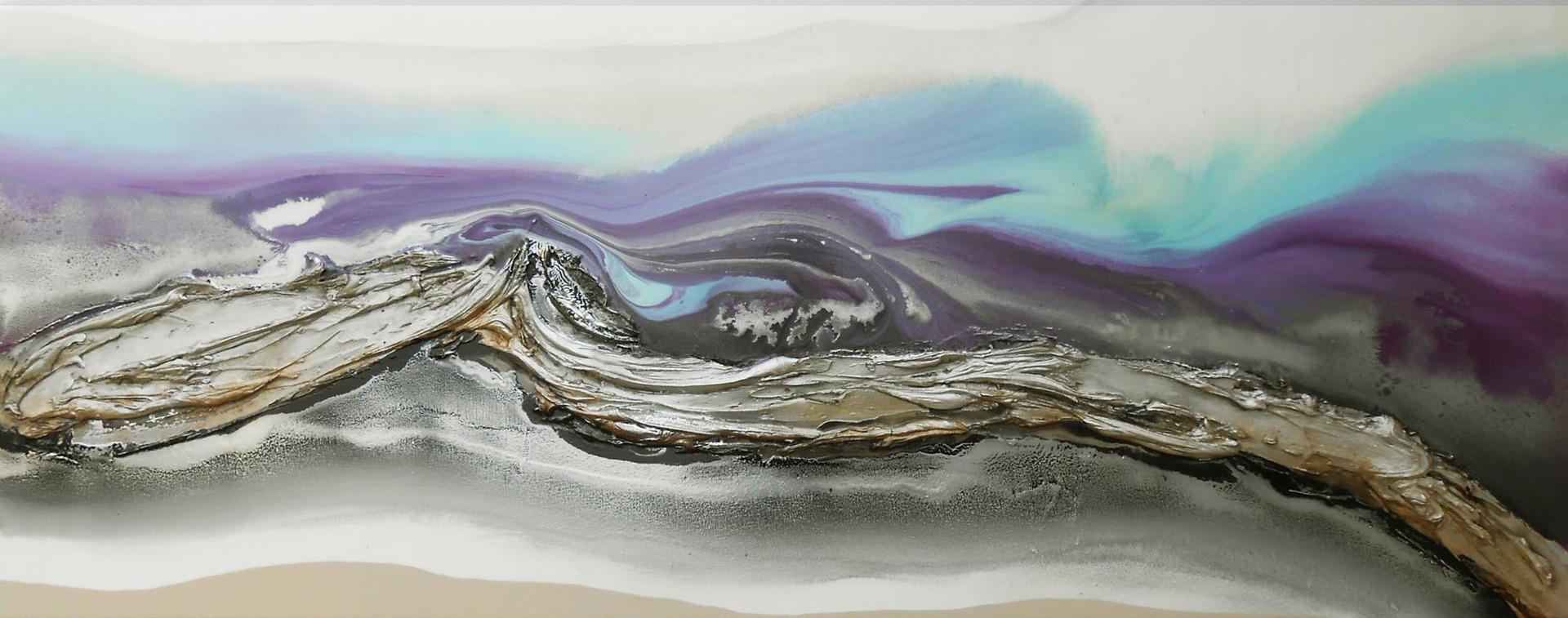 purple seascape