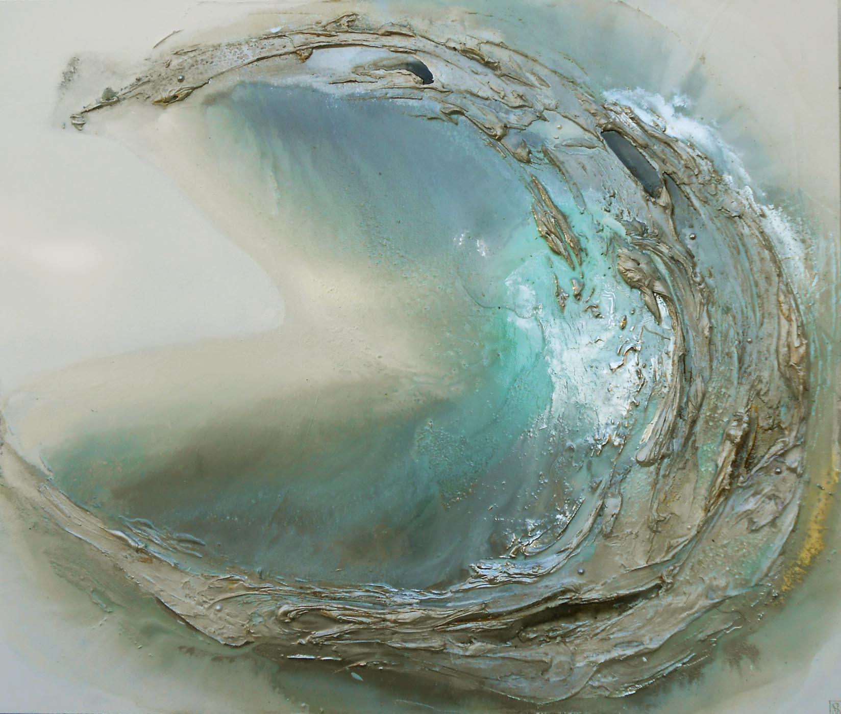 light blue oyster